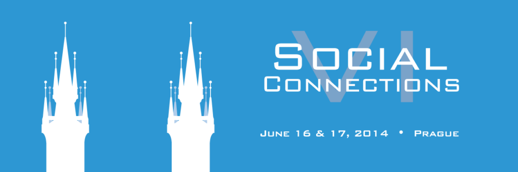 Social Connections VI logo (banner)