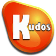 Kudos badge logo