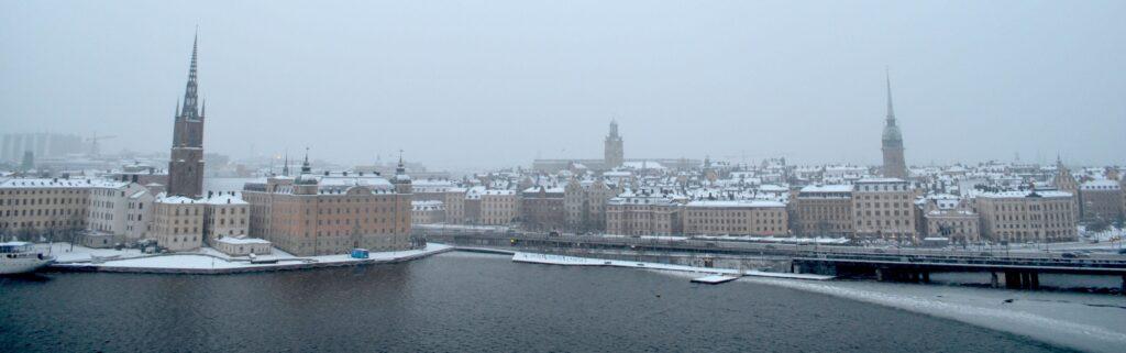 Stockholm snow Jan 2015